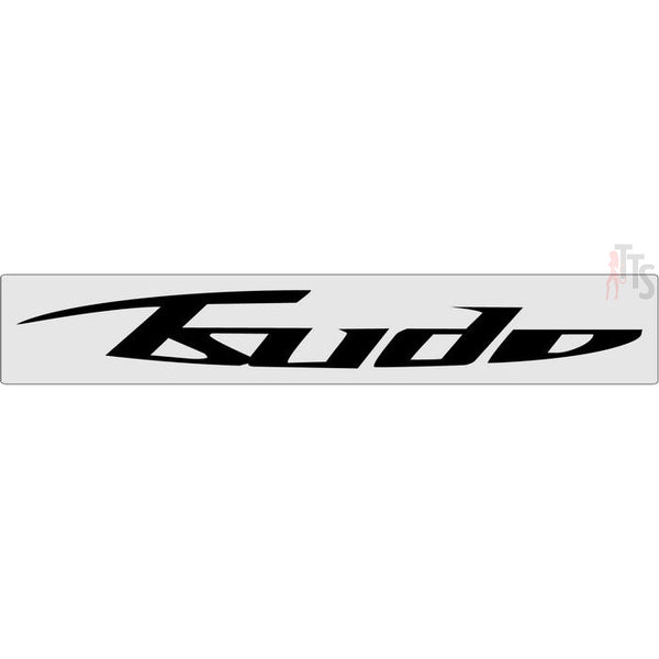 Tsudo Windshield Banner Decal Sticker Style 2
