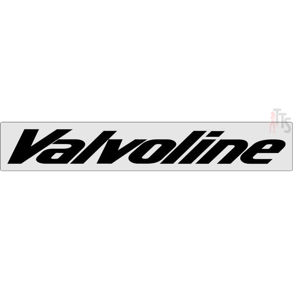 Valvoline Windshield Banner Decal Sticker