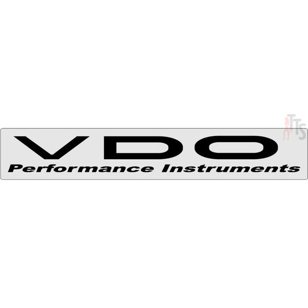 VDO Windshield Banner Decal Sticker