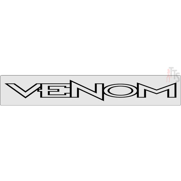Venom Windshield Banner Decal Sticker