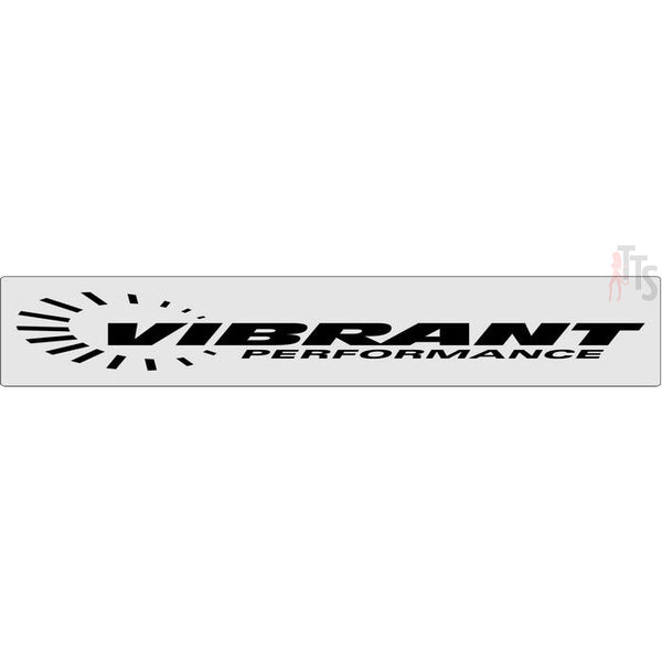 Vibrant Performance Windshield Banner Decal Sticker