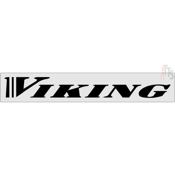 Viking Windshield Banner Decal Sticker