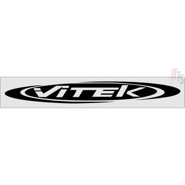 Vitek Windshield Banner Decal Sticker