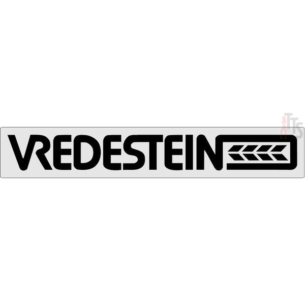 Vredestein Windshield Banner Decal Sticker