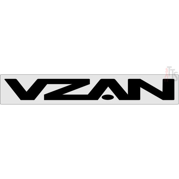Vzan Windshield Banner Decal Sticker
