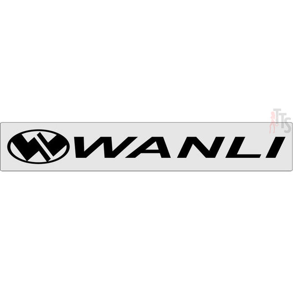Wanli Windshield Banner Decal Sticker
