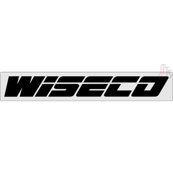 Wiseco Windshield Banner Decal Sticker Style 2