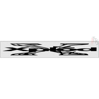 Xplod Windshield Banner Decal Sticker Style 2