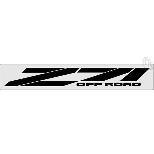 Chevy Z71 Offroad Windshield Banner Decal Sticker