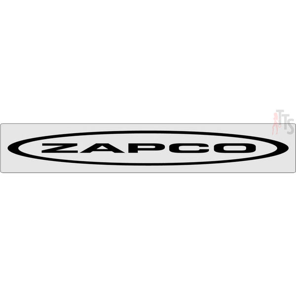Zapco Windshield Banner Decal Sticker