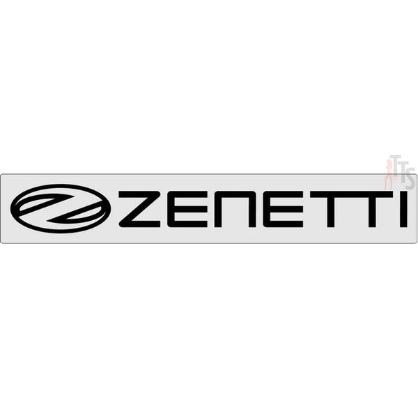 Zenetti Windshield Banner Decal Sticker
