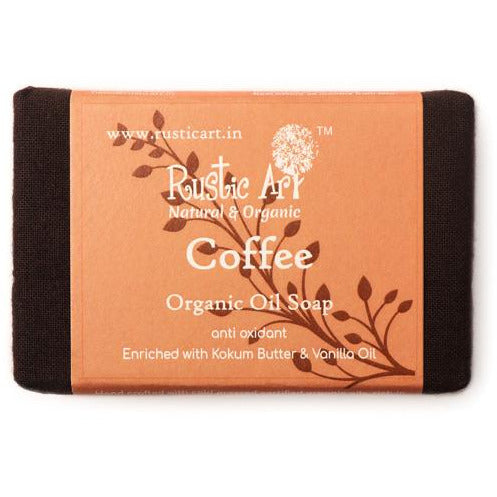 Organic Coffee Soap By Rustic Art.