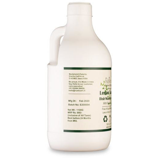 Organic Lemon Tamarind Dish Wash Concentrate.