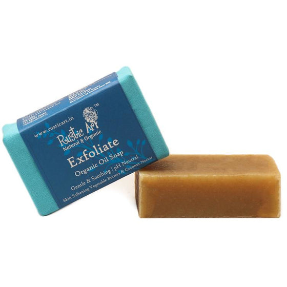 Organic Exfoliate Soap By Rustic Art.
