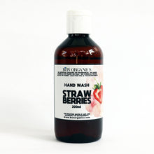 Strawberry Hand wash BY BON ORGANICS.