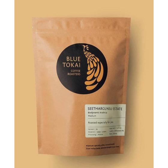 Organic coffee Seethargundu Estate (Light Roast) (Channi Grind) 250g