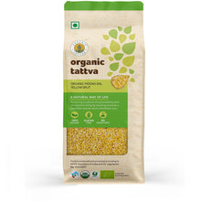 Organic Moong Dal Yellow Split 500g.