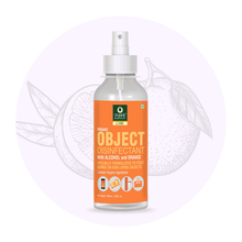 Objects Disinfectant with Alcohol and Orange,  100ml.