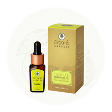 Organic Harvest Lemon Essential Oil, 10ml.