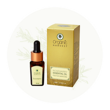 Organic Harvest Rosemary Essential Oil, 10ml.