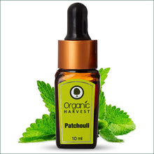 Organic Harvest Patchouli Pure Essential Oil, 10ml.
