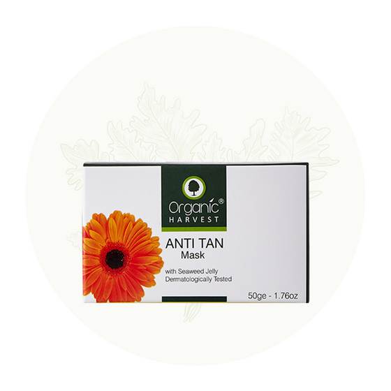 Organic Harvest Anti Tan Mask, 50gm.