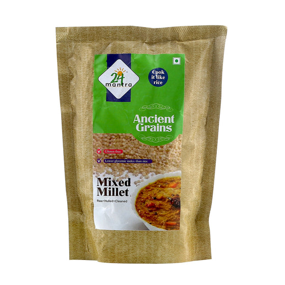MIXED MILLETS 500 G.