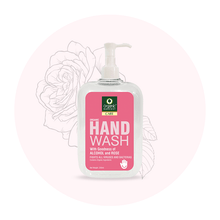 Hand Wash with Goodness of Alcohol and Rose, ,250ml.