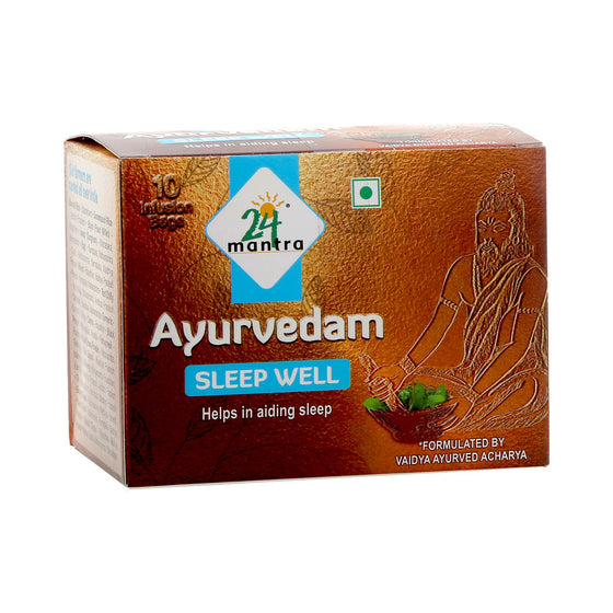 AYURVEDAM  SLEEP WELL (25 BAGS).