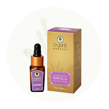 Organic Harvest Lavender Essential Oil, 10ml.