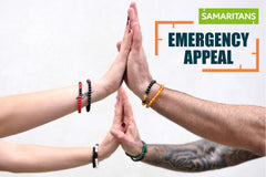 THE AURA BRACELETS SAMARITANS CHARITY
