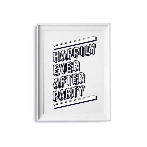 Happily Ever After Party Artwork