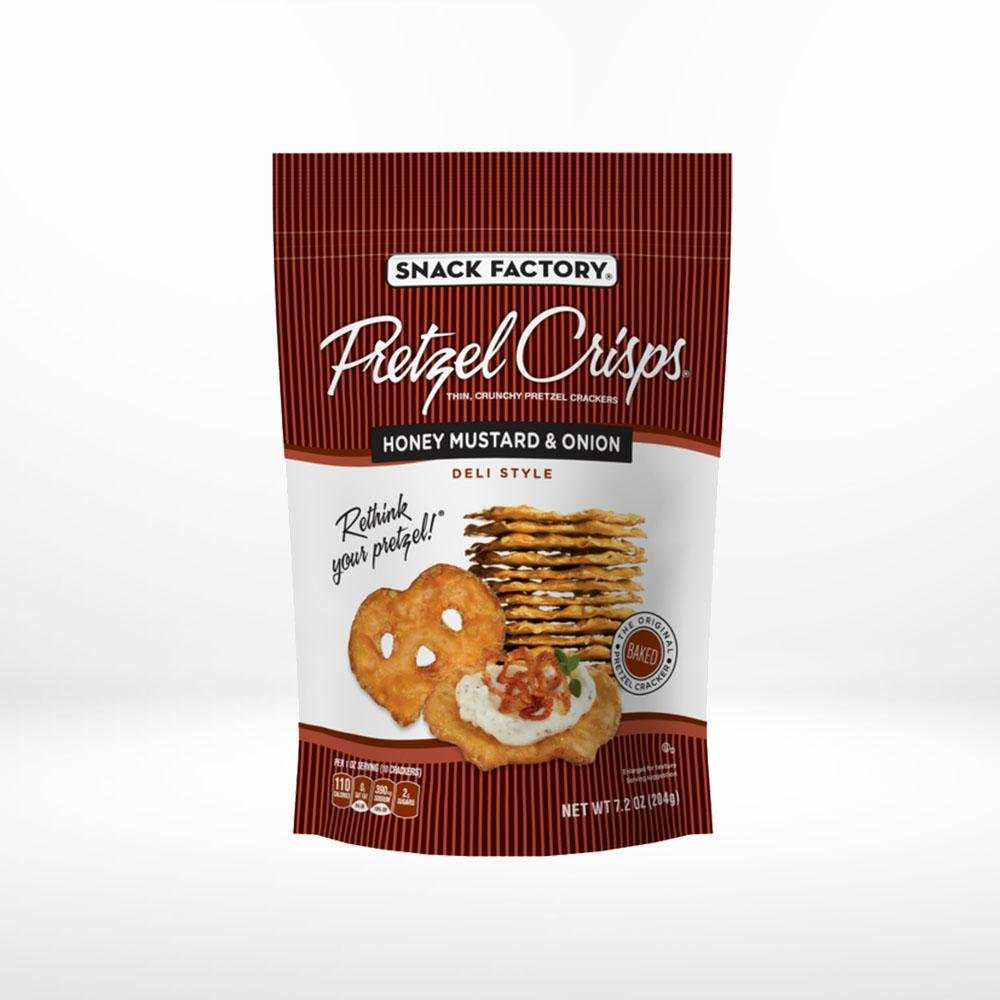 Honey Mustard Pretzel Crisps - SupplyDrop