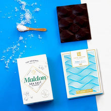 Load image into Gallery viewer, Maldon Sea Salt 70% Dark Chocolate Bar - SupplyDrop