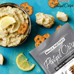 Sea Salt & Pepper Pretzel Crisps - SupplyDrop