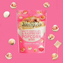 Load image into Gallery viewer, White Chocolate & Raspberry Popcorn Bites