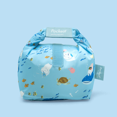 Pockeat Food Bag | White and Sea 白白與海