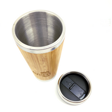 Load image into Gallery viewer, Bamboo Coffee Tumbler