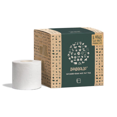 Bambooloo 100% Bamboo Toilet Roll