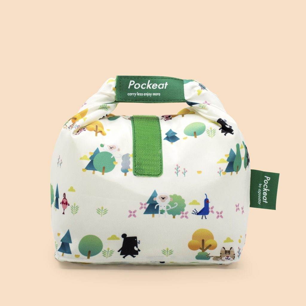 Pockeat Food Bag | Beeru and Forest 黑啤有樹嗎