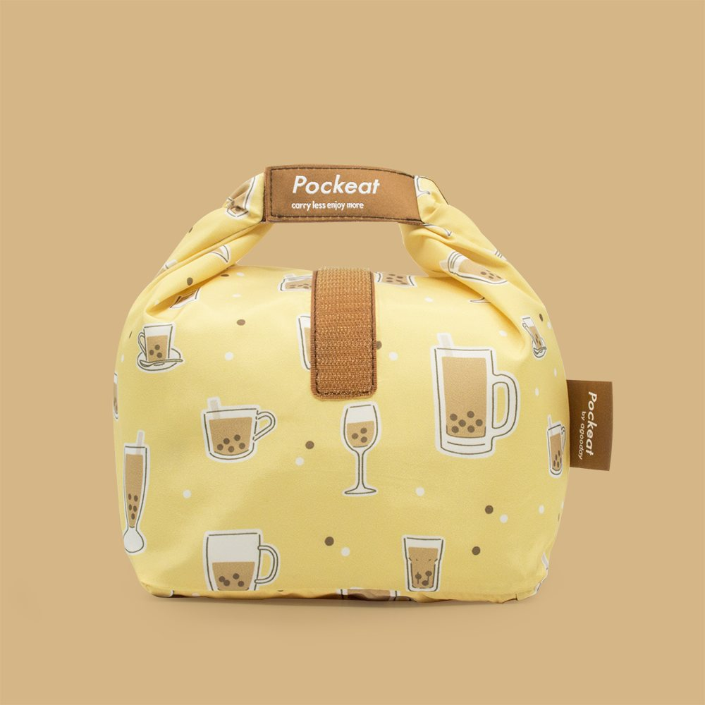 Pockeat Food Bag | Bubble Tea 珍奶不要吸管
