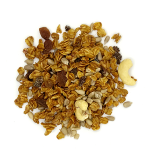 Organic Cinnamon Muesli with Cashews