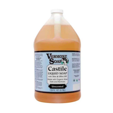 Vermont Unscented Castile Soap