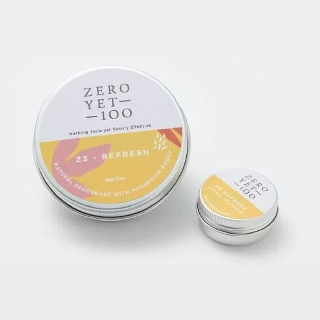 Z3 Refresh Deodorant Aluminium Pot – 60gm