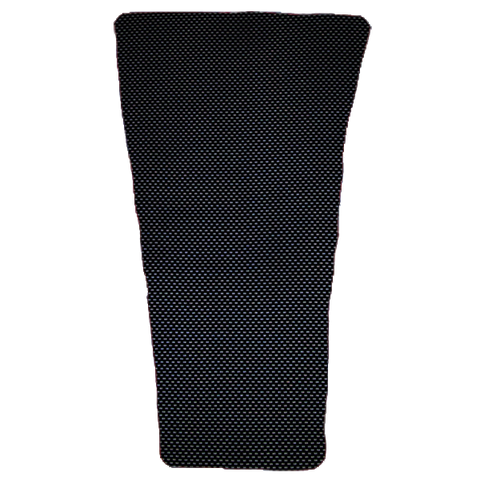 Black Carbon Prosthetic Suspension Sleeve Cover