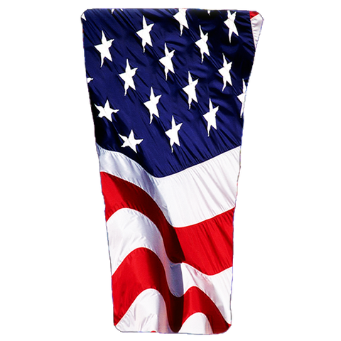 American Flag Prosthetic Suspension Sleeve Cover