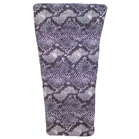 Grey Snake Prosthetic Suspension Sleeve Cover