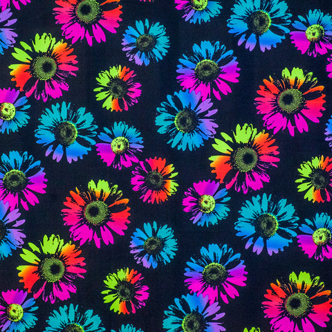 Neon Flowers Laminating Sleeve