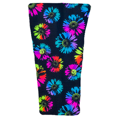 Neon Flowers Prosthetic Suspension Sleeve Cover
