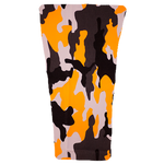 Orange Camo Prosthetic Suspension Sleeve Cover